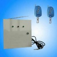 INTRUDER ALARM WITH STORAGE BATTERY AND IRON CASE