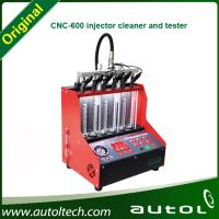 Best 2014 Top Quality 2014 Fuel Injector Tester and Cleaner CNC600 Ultrasonic Fuel Injector Cleaning Machine wholesale
