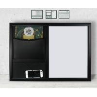 Best Hanging Decorative Message Boards / Kitchen Message Board With Key Hooks wholesale