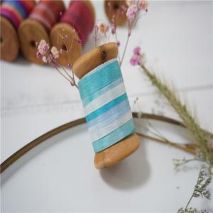 Best 7mm variegated silk ribbon,multicolor ribbon,rainbow 100% silk ribbon,ribbon,embroidery ribbon wholesale