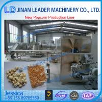 Best high rate of finish product Popcorn production line wholesale
