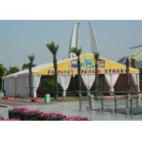 China 500 People 10 X 20 Outdoor Canopy Party Tent With Sidewalls For Different Activities on sale
