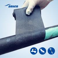 Best Emergency Glass fiber Pipe repair Wrap Bandage water activity polyurethane resin fix tape armor wrap wholesale