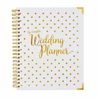 Best 9 X 11 Inches Custom Business Planner , Hardcover Personal Ring Planner For Wedding wholesale