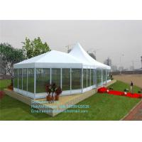 Buy cheap Chinese Waterproof Aluminum Frame PVC Cover Event Tent With Solid Wall product