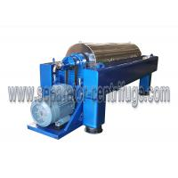 Buy cheap Centrifugal municipal waste water decanter centrifuge from wholesalers