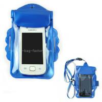Best Promotional Gift Waterproof Case Bag , Underwater Phone Pouch With Armband / Landyard wholesale