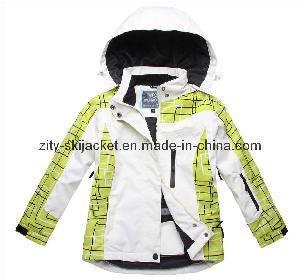 Best Waterproof & Breathable: 5000/5000mm, Outdoor Boy′s Ski Jacket (ZY-6012) wholesale