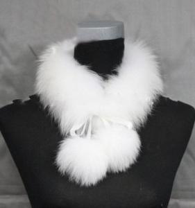 Best fashion fox fur women scarves wholesale