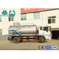China Manual Fast Cleanning Energy Saving Sewage Suction Trucks With Vacuum Pump on sale