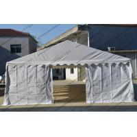Best 6 X 12m Outdoor Event Tent White Color Pvc Cover With Transparent Church Windows wholesale