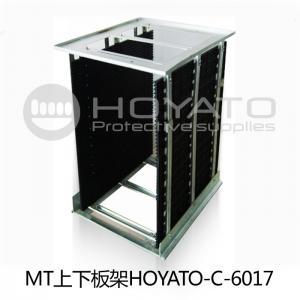 China Anti Fold / Anti Aging ESD PCB Magazine Rack , Bearing Strength SMT Magazine Rack on sale
