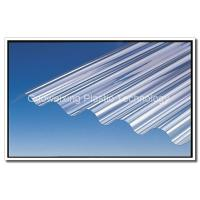 China 100% Virgin Bayer Or Lexan Material UV Protection 4 mm - 20 mm Corrugated Polycarbonate Sheets on sale