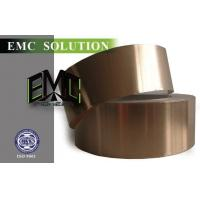 China EMI RFI Copper Foil Tape With Conductive Adhesive For Shielding Room on sale