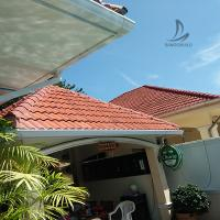 Best International Shipping Decorative Roofing Materials Rain Collector System PVC Rain Roof Gutters System With Low Cost wholesale
