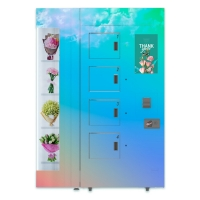 China Humidty And Temperature Control Floral Vending Machine on sale