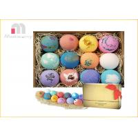 China Private Label Mini Bath Bombs Set For Perfect Christmas Gift 3 Years Shelf Life on sale