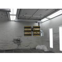 Custom Mobile Infrared Industrial Spray Booth Coating 7500X4500X3300 mm ID