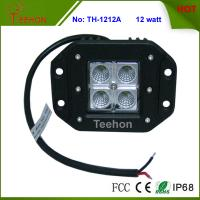 Best Professional Flush mount 12W off Road 4X4 CREE LED Work Light with IP67, CE, RoHS wholesale