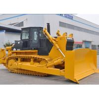 Best 320HP SD32 SHANTUI Crawler Bulldozer With 335.5L / Min Displacement wholesale