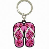 Best Keychain, Made of Soft PVC, OEM Orders and Customer's Designs are Welcome wholesale