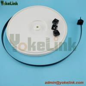 Best 12.7mm width 50 feet length Black Strap on reel with separate head wholesale