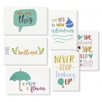 Best 6 Types Unique Holiday Cards / Inspiring Motivational Cards With Envelopes wholesale
