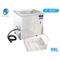 Best Double Tanks Ultrasound Washing Machine , Automotive Ultrasonic Cleaner For Car Parts Grease wholesale