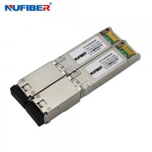 Best Simplex LC 10G SFP+ Transceiver 80km SFP-10G-BX80-SM1490 wholesale