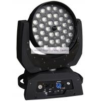 China 36x10W RGBW Quad color LED Moving Head Wash Zoom on sale
