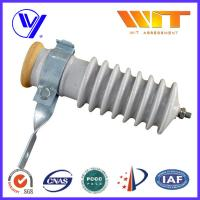 Best 51KV Power Station Porcelain Substation Surge Lightning Arrester High Reliability wholesale