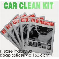 Best Disposable Plastic Car Cover with Elastic Band Medium Size, Kit De Protection, Car Clean Kit, car protection disposable wholesale