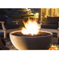 Best Factory price outdoor real flame  bbq round fire gas fireplace stove wholesale