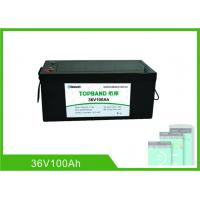 Best Lithium Ion Rechargeable Marine Battery 36 Volt 100Ah With 2 Years Warranty wholesale