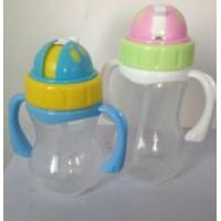Best PP baby water training drink bottle with straw 180ml,210ml,330ml wholesale
