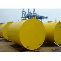 Best Foam Filled Marine Cylindrical Steel Mooring Buoy With High Toughness wholesale