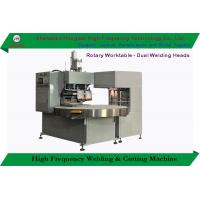 China Blister Pack Sealing Cutting High Frequency Welding Machine Rotary Worktable on sale