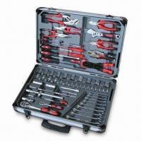 Best 66pcs Tool Kit with Aluminum Case, Cr-v Forged Screwdrivers and Satin Finish wholesale