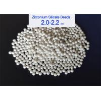 Best ZrO2 65% Zirconium Silicate Grinding Media For Paint Grinding / Dispersion wholesale