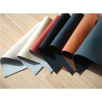 7 Colors Recycled Leather Fabric Cow Real Leather Upholstery Fabric