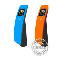 Best Interactive touch screen kiosk floor stand with card reader wholesale