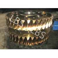 Brass/ Alloy Steels Aluminum Double Helical Gear For Transmission