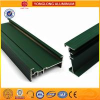 Best RAL Colour Powder Coated Aluminium Extrusions Highly Glossy / Matte wholesale