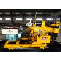 Best Electric Water Well Drilling Machine , Hydraulic Crawler Drilling Machine wholesale