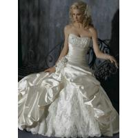 China Free Shipping Ball Gown Sweetheart Chapel Train Sexy Satin Wedding Dresses on sale