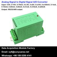 Best 4-20mA/0-10V to RS485 Converter A/D Converter With Modbus wholesale