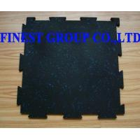 China Interlocking Rubber Tile, Rubber Floor on sale
