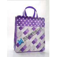 Cheap High Quality Custom Printing Recyclable Laminated PP Non Woven Bag for sale