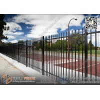 Best 1800X2400mm Garrison Metal Tubular Fence for sale | China Steel Picket Fence wholesale