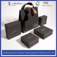 China Luxurious Appearance Custom Packaging Boxes Good Craftsmanship For Jewelry Set on sale